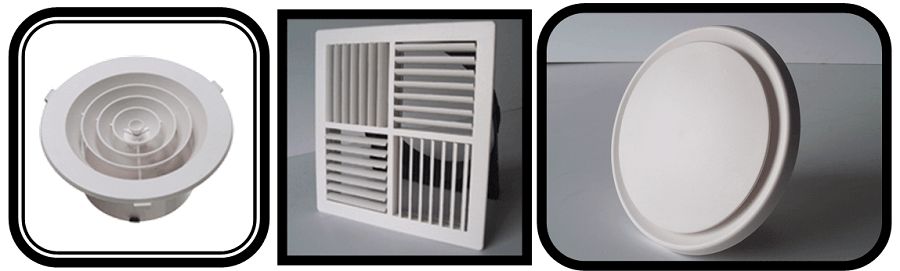 Ducted Air conditioning Air Diffusion